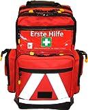 Erste Hilfe Notfallrucksack für Sportvereine, Event & Freizeit – Nylonmaterial mit weißen Reflexstreifen - 4