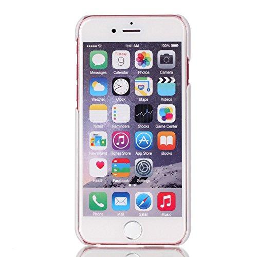 iPhone 7 Case,iPhone 7 Cover (4.7), Bonice Ultra Sottile PC Hard Back Antiurto Shock-Absorption Love Case + 1x Protezione Dello Schermo Screen Protector model 7