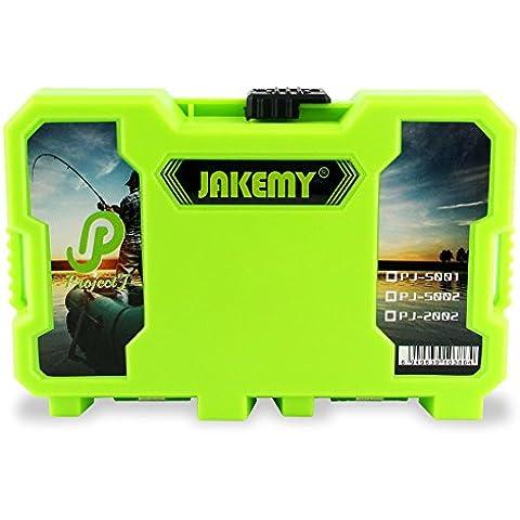 Plástico caja Xagoo de almacenaje Organizador ajustable Caja de accesorios caja de herramientas desmontable JM-PJ2002