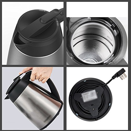 Electric Kettles YANFEI Stainless Steel Automatically Disconnect Power 1.5L 1800W Beautiful Fashion Portable Home Travel quick boiling
