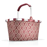 reisenthel carrybag diamonds rouge Einklaufskorb 48 x 29 x 28 cm, 22 Liter