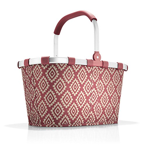 reisenthel carrybag Diamonds Rouge rot BK3065