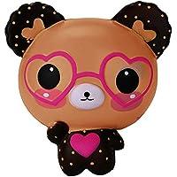 Covermason Bär Squishy Toys Spielzeug Jumbo Cute Stress Kombination Toys angsames Aufstehen Duftend Stress abbauen Spielzeug