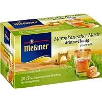 Meßmer Marokkanischer Masir, Minze-Honig 20 Teebeutel, 2er Pack (2 x 40 g Packung)