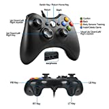 xbox 360 mando,Gamepad, Controlador de Gamepad, Xbox 360 Controlador común para Windows XP/7/8/10,Android (TV box / smartphone / tablet)