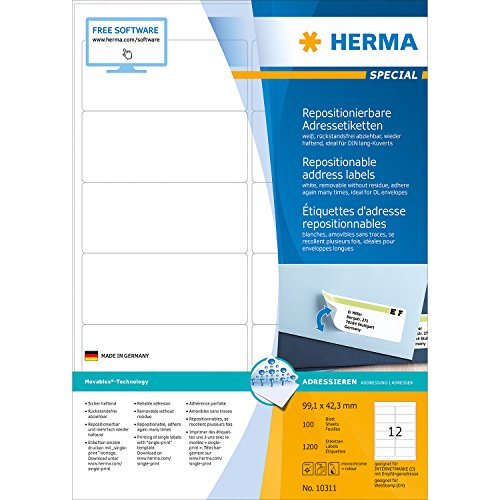 herma-10311-adressetiketten-a4-repositionierbar-papier-matt-991-x-423-mm-1200-stuck-weiss