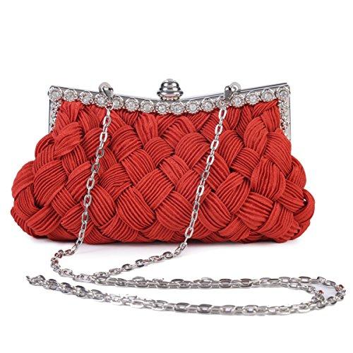Damara, Poschette giorno donna Rosso (rosso)