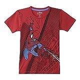 #9: Spiderman Boys' Plain Regular Fit T-Shirt
