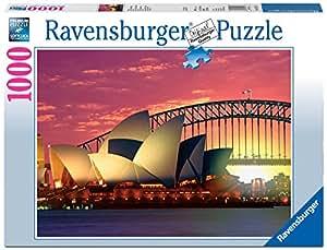 Ravensburger - 19211 - Puzzle - Sydney, opéra et pont - 1000 pièces