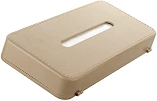 Sepia Car Sun Shade Mountable Tissue Box (Beige)