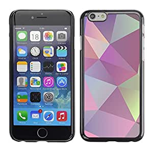 Omega Covers - Snap on Hard Back Case Cover Shell FOR Apple Iphone 6 Plus / 6S Plus ( 5.5 ) - Texture Shapes Pattern