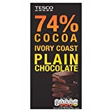 T.Cont 74% Plain Chocolate Bar 100G