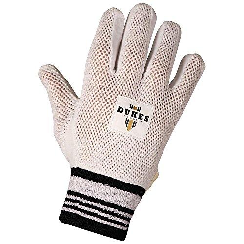 Dukes Baumwolle gepolsterte Cricket Handschuhe für Wicketkeeper Innenhandschuhe