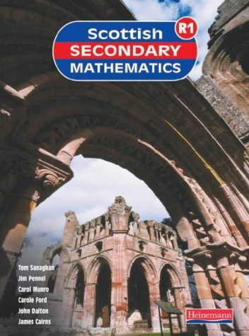 By SSMG - Scottish Secondary Maths Red 1 Student Book: S1-1r Student Book (Scottish Secondary Mathematics)