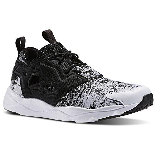 Reebok Furylite JF, V69500 Black/White, sneaker men (45)