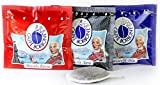3x 50Capsules Coffee Borbone (Pacco Tasting 50Capsules Mix NERA, 50blue and 50Red)