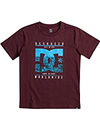 DC Shoes City State Ss Boy Camiseta, Niños