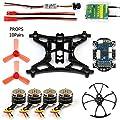 GEHOO DIY Mini Racer Drone with camera 800tvl Transmission SBUS/FS-X6B/RFASB/R6DSM Receiver Brushless Motor for RC Quadcopter