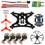 GEHOO DIY Mini Racer Drone with Camera 800tvl 25mw Transmission Tarot RFASB TX Receiver Brushless Motor for RC Quadcopter