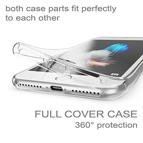 Custodia XIAOMI REDMI 5 PLUS Cover Fronte Retro 360°FullBody Touch Silicone