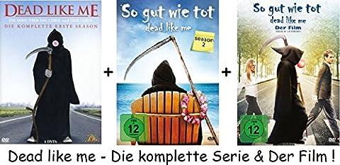 Dead Like Me Die komplette Serie und der Film in