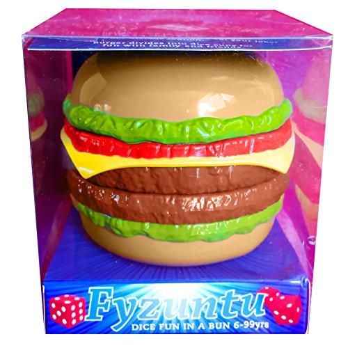 Juego de dados de hamburguesa, de Fyzuntu