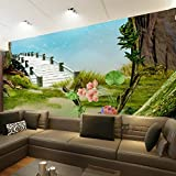 Lzhenjiang Wandbilder Seidentuch 3D-Traum Landschaft Tapete Wand Großes Schlafsofa Im Wohnzimmer Schlafzimmer Tv Wand Hintergrund Wände