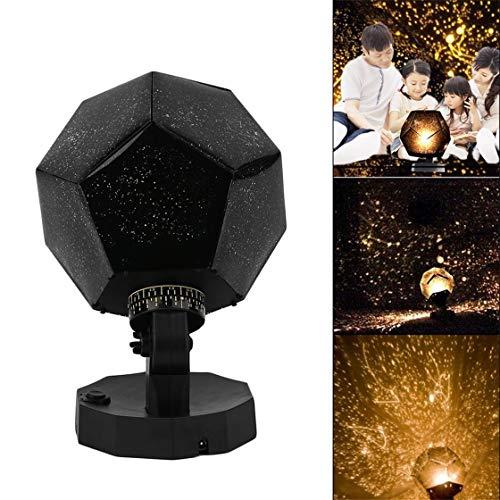 Home Decor Romantic Astro Star Sky Projection Cosmos Night Lamp Starry Night Romantic Bedroom Decoration Lighting Gadgets - Sky Home Decor