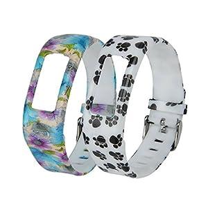 Weiches Silikon-Ersatz-Armband für Garmin Vivofit.