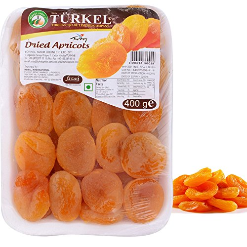 Turkel Delicious Dried Apricot Khumani 400 Gm