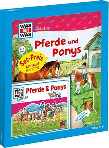 Junior-pony (WAS IST WAS Junior Geschenkset Pferde und Ponys: Bilderbuch mit Spielen, Rätseln & Hörspiel-CD)