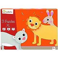 Avenue Mandarine Une boite de 3 Puzzles XL