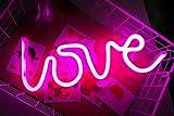 Best Lampes au néon de bureau - Amour Neon Signes LED Décor Night Light Décoration Review