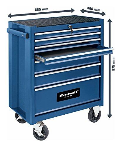 Einhell BT-TW 150carro porta herramientas Ed Herramientas–de Acciao 68,5x 46x 87,5cm