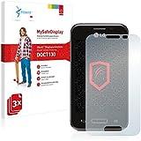 3x Vikuiti MySafeDisplay Protector de Pantalla DQCT130 de 3M para LG L40 D160 (One Sim)