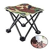 lennonsi Angelhocker Faltbar Camping Hocker Klappstuhl Kleine Hocker Sitz Faltbare Leicht Portable für Wandern Camping BBQ Picknick Reise