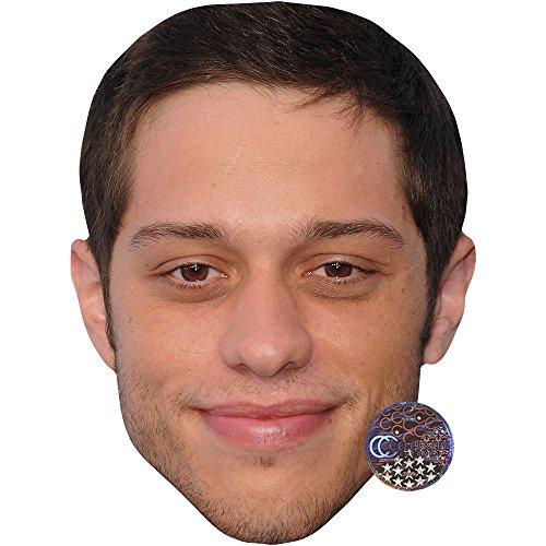 Celebrity Cutouts Pete Davidson Maske aus Pappe