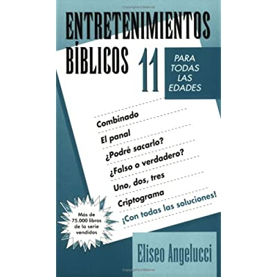 Pdf Biblical Entertainment 11 Entretenimientos Biblicos
