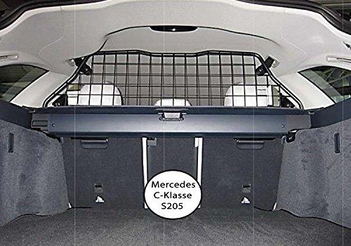 Kleinmetall Masterline passend für Mercedes C-Klasse T-Modell (Typ S205) ab Bj. 2014 passgenaues Trenngitter/Hundegitter/Gepäckgitter