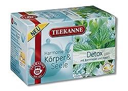 Teekanne Harmonie für Körper und Seele Detox 20 Beutel, 10er Pack (10 x 35 g)