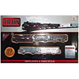 Kotak Sales True Style Classic Train Enjoy Simulating Small Toy Train For Kids 19 Piece Set Battery Operated