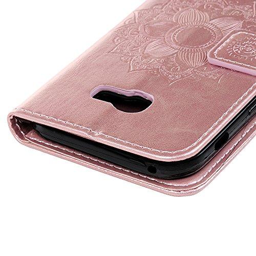 dfa0fd66169 PrevNext. 1. 2. 3. 4. Funda para Samsung Galaxy A5 2017, Libro de Cuero  Impresión de Suave PU Premium ...