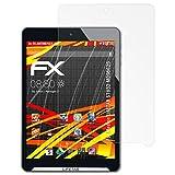 atFolix Schutzfolie kompatibel mit Medion LIFETAB S7852 MD98625 Bildschirmschutzfolie, HD-Entspiegelung FX Folie (2X)