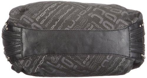 Fornarina Bags TYLER B612N191, Damen Shopper 36x27x13 cm (B x H x T) Schwarz (Black 00)