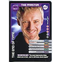 Doctor Who Monster Invasion Card #017 The Master