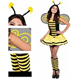 Christy's Adults - Disfraz de abeja para adulto (talla 36-38, para mujer)