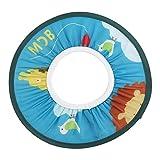 Cuffia doccia bebè, capretto per bambini Capetto per shampoo Capetto impermeabile per il bagno Cuffia per la doccia Cuffia per protezione balneazione(blu)