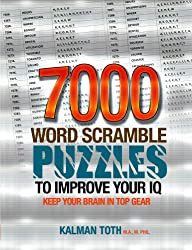 7000 Word Scramble Puzzles to Improve Your IQ