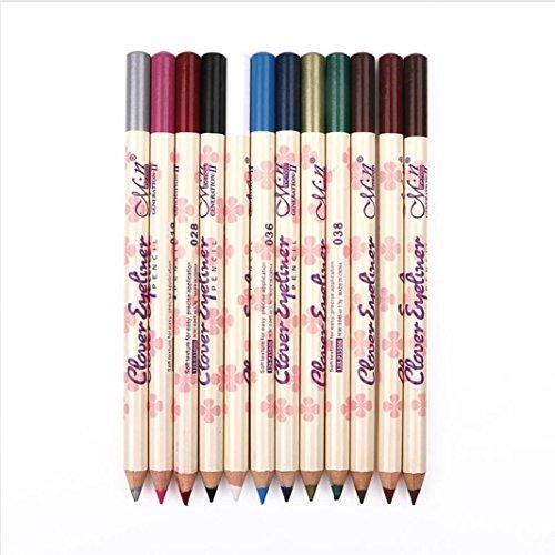 LHWY 12 couleurs sourcils ombre EyeLiner Pencil stylo cosmétiques kit de maquillage kit