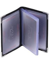 porte-cartes pour pièce d'identité LEAS, cuir véritable, noir - ''LEAS Card-Collection''